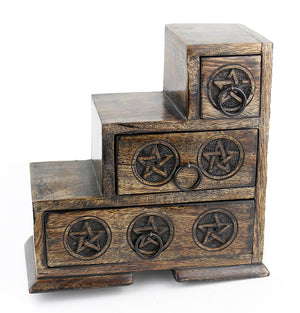 Pentagram Three-Step Cupboard