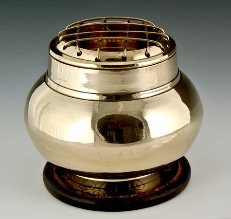 Brass Screen Charcoal Burner