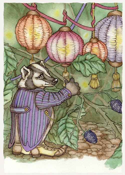 Badger's Discovery Card