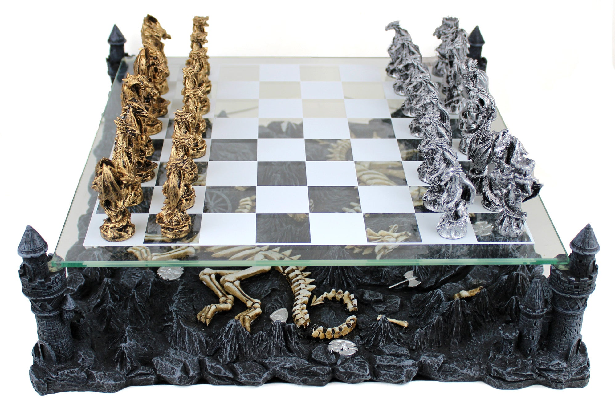 Battling Dragons Chess Set