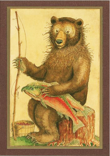 Grizzly Bear Card -- DragonSpace