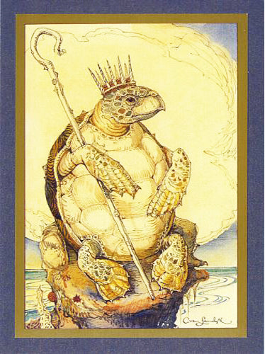 Tortoise King Card