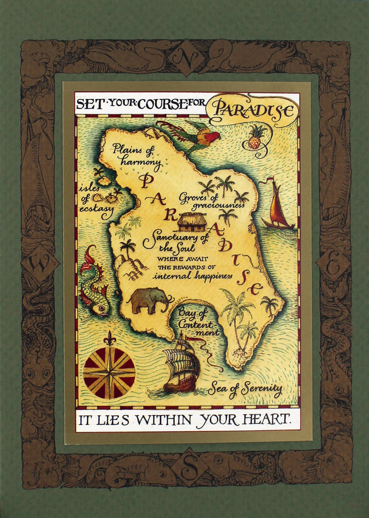 Mother Earth Map Card