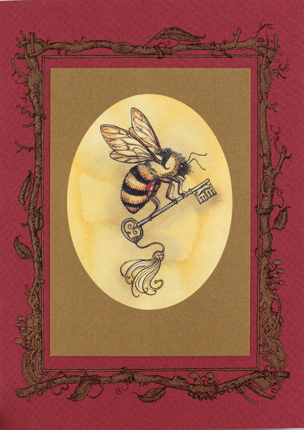 King Bee with Key Card