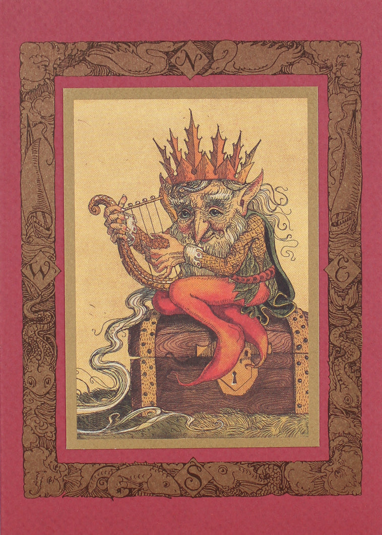 Gnome King on Treasure Card