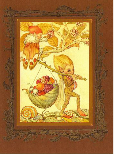 Autumn Fairy Card -- DragonSpace