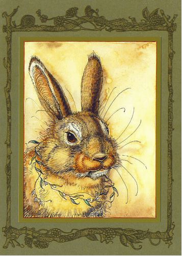 Mr. Rabbit's Portrait Card