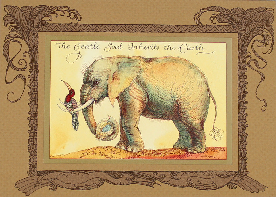 Elephant Gentle Soul Card