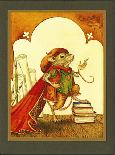 Oh Flamboyant Mouse Card