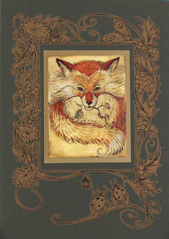 Mrs. Fox Card