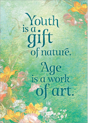 Youth is a Gift Card