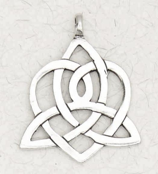 Trinity Heart Necklace