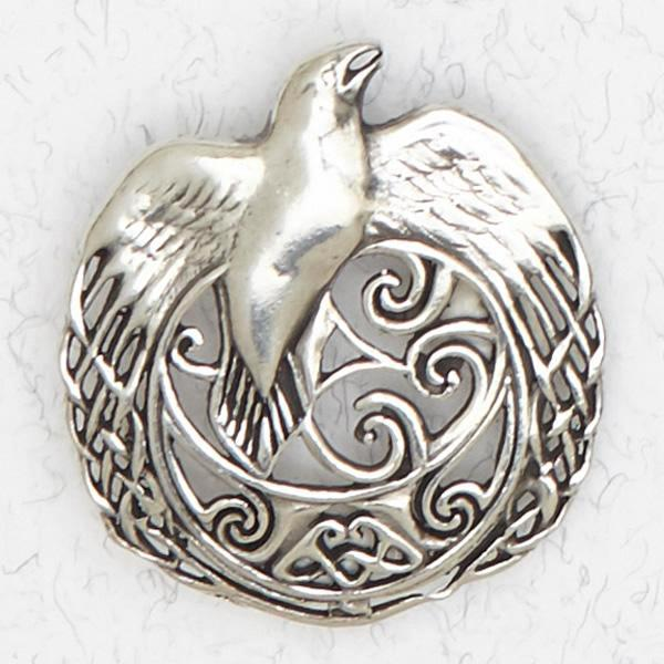 Celtic Raven Talisman -- DragonSpace