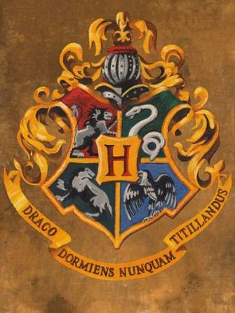 Harry Potter Crest Poster