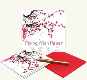 Cherry Blossoms Flying Wish Kit