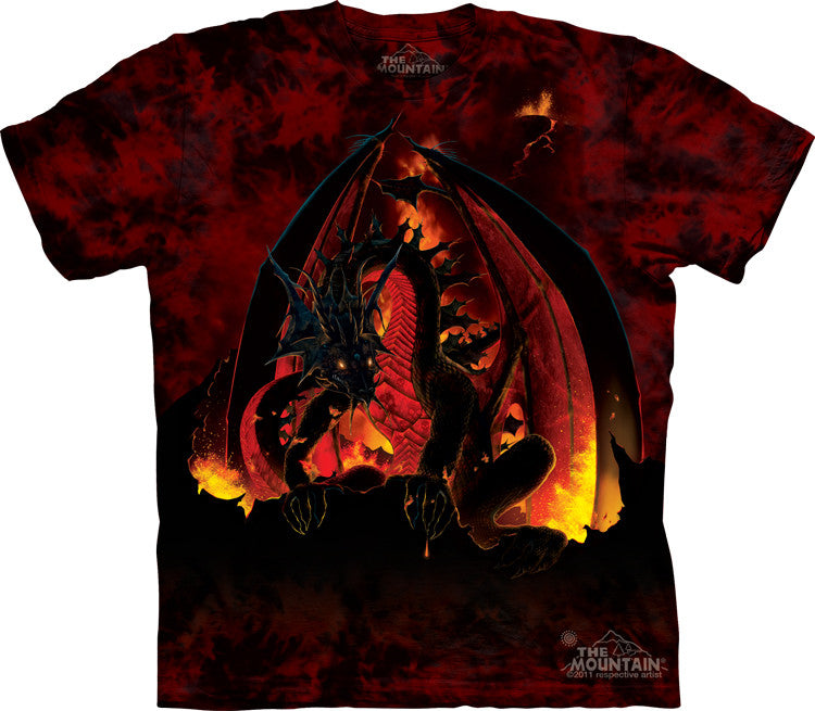 Fireball T-Shirt -- DragonSpace