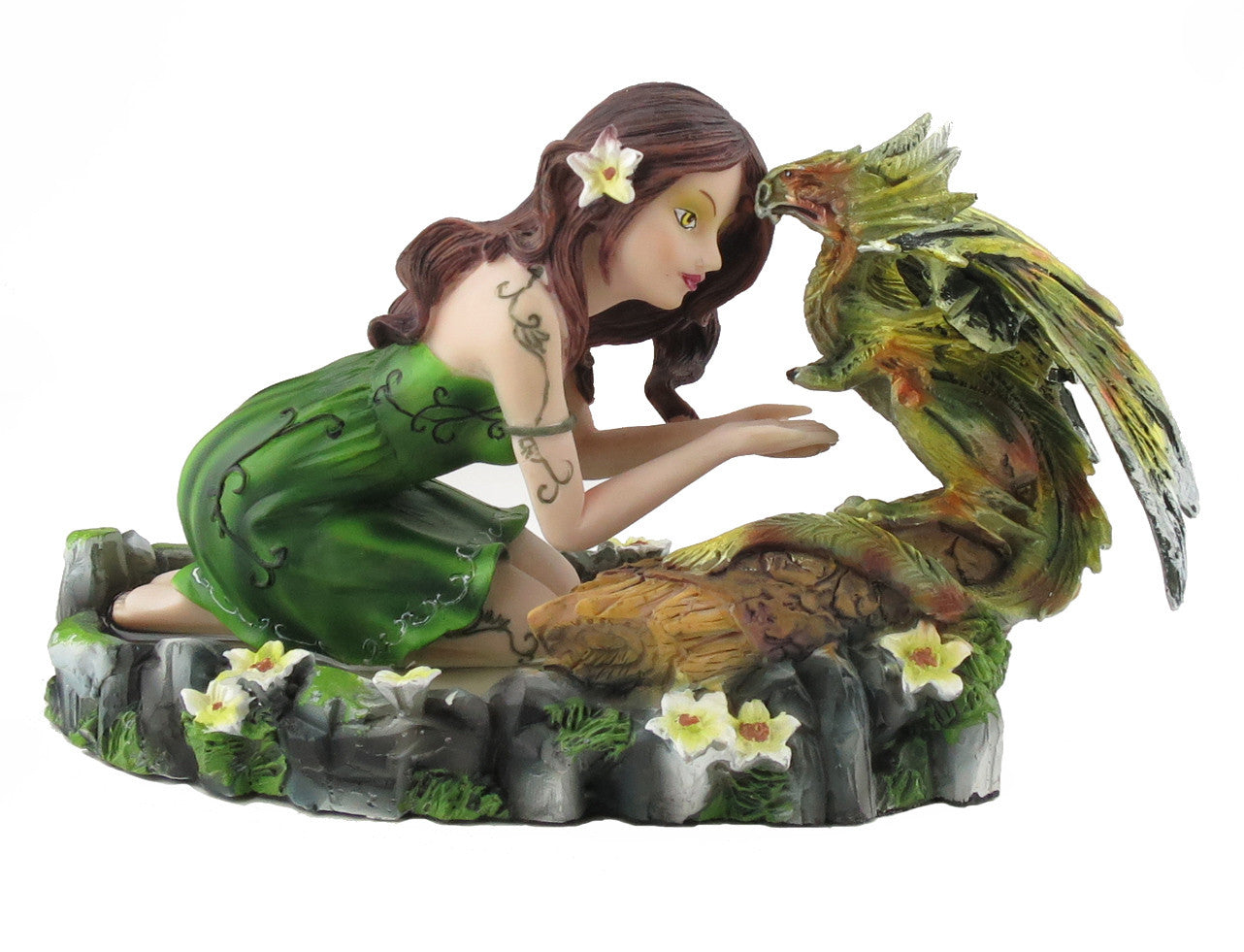 Girl with Green Dragon -- DragonSpace