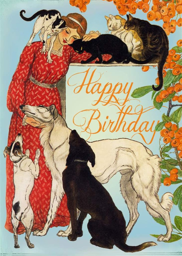 Cats & Dogs Card