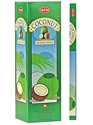 Coconut Incense -- DragonSpace