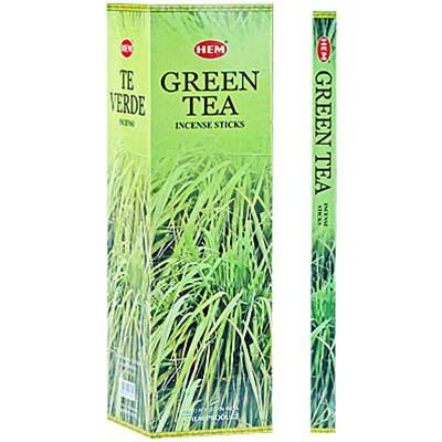 Green Tea Incense -- DragonSpace