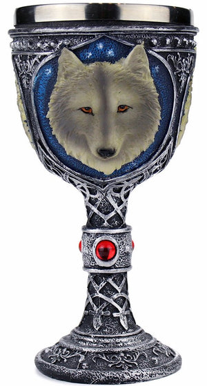 Wolf Head Goblet