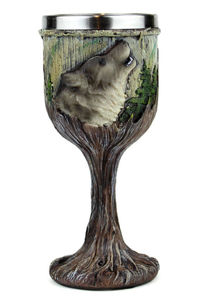 Howling Wolf Goblet