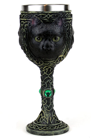 Black Cat Goblet