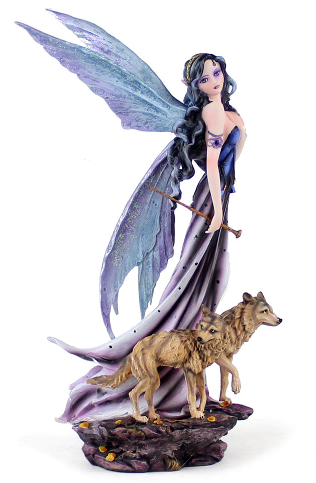Korine Fairy with Wolves