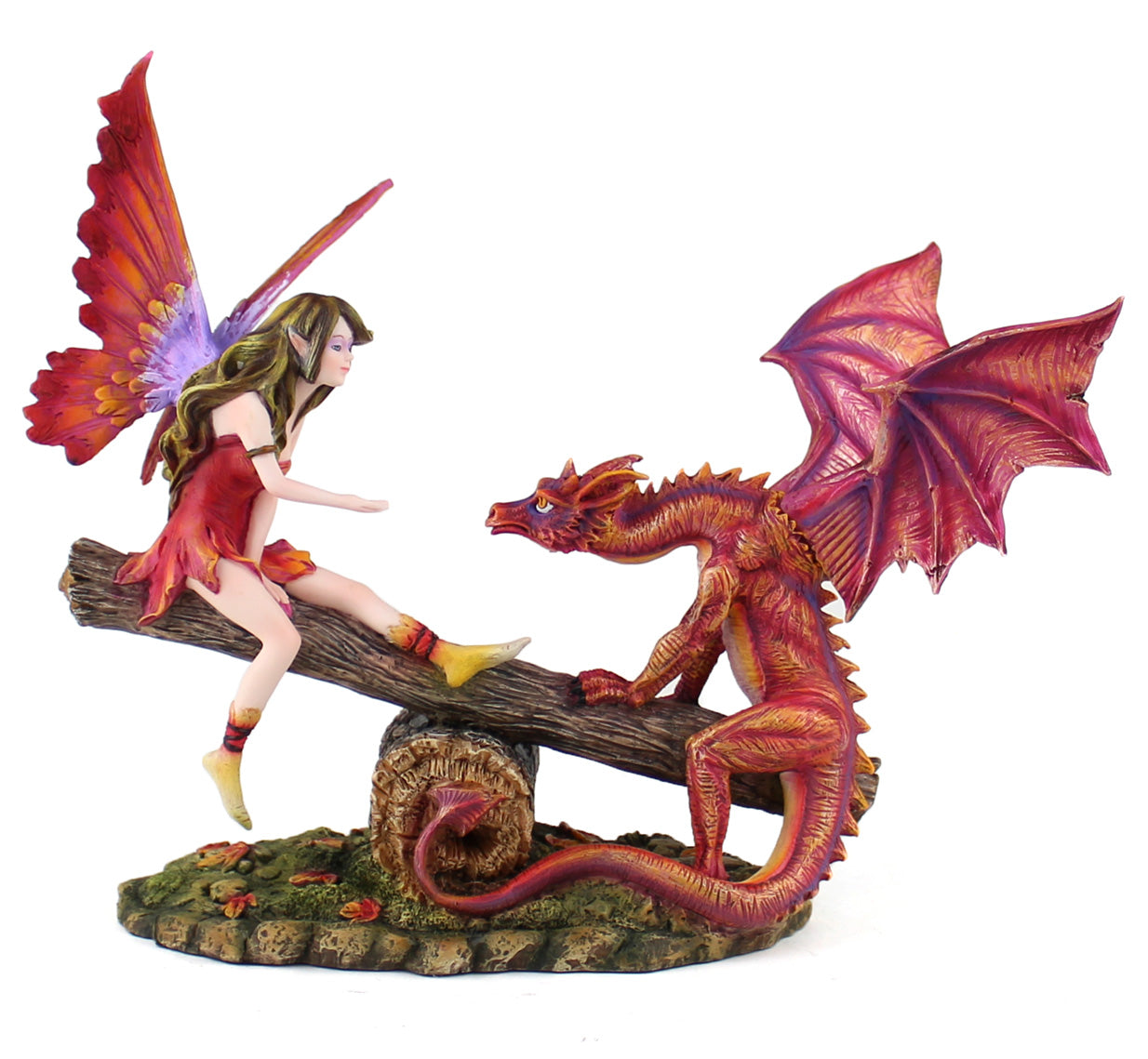Fairy & Dragon on Seesaw