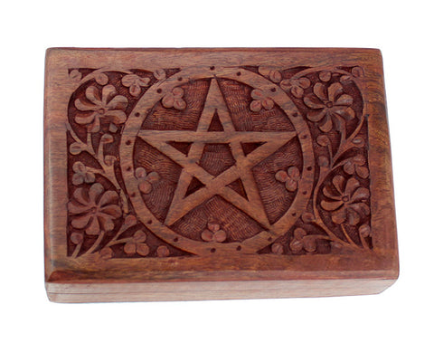 Engraved Pentacle Box