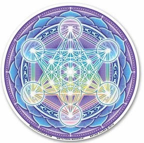 Metatron Mandala Window Sticker