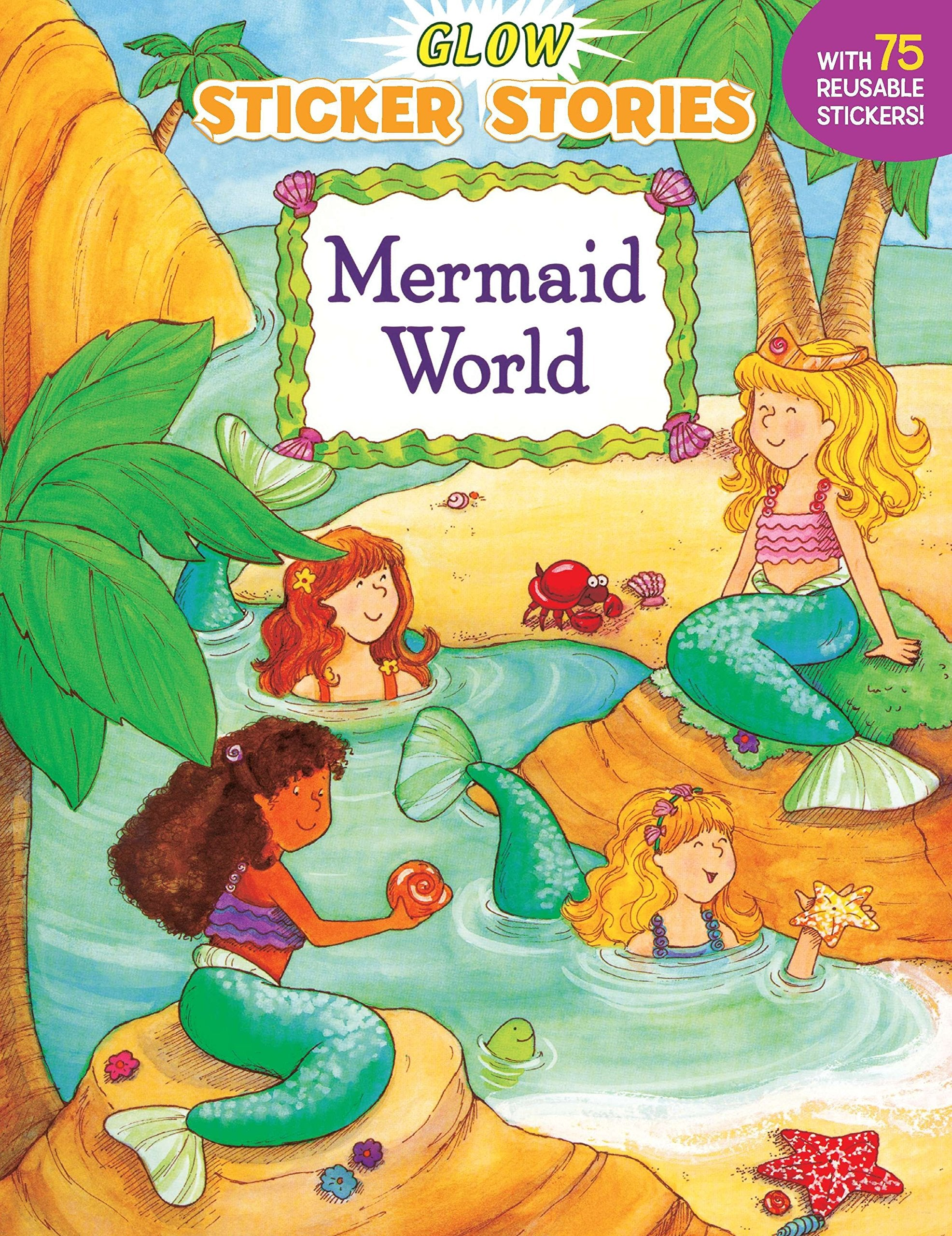 Mermaid World Sticker Book
