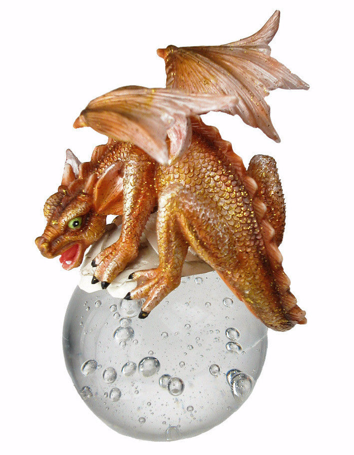 Orange Dragon Bubble Rider
