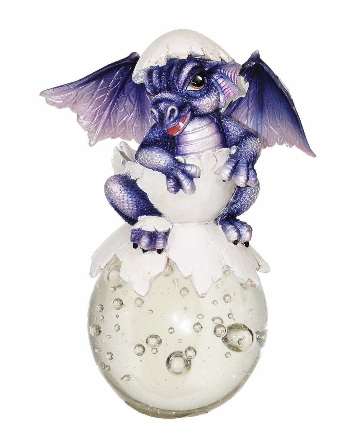 Purple Hatchling Dragon Bubble Rider