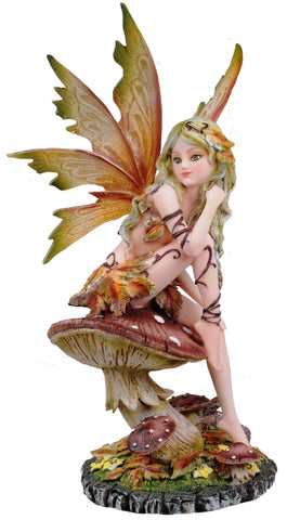 Woodland Nymph on Toadstool