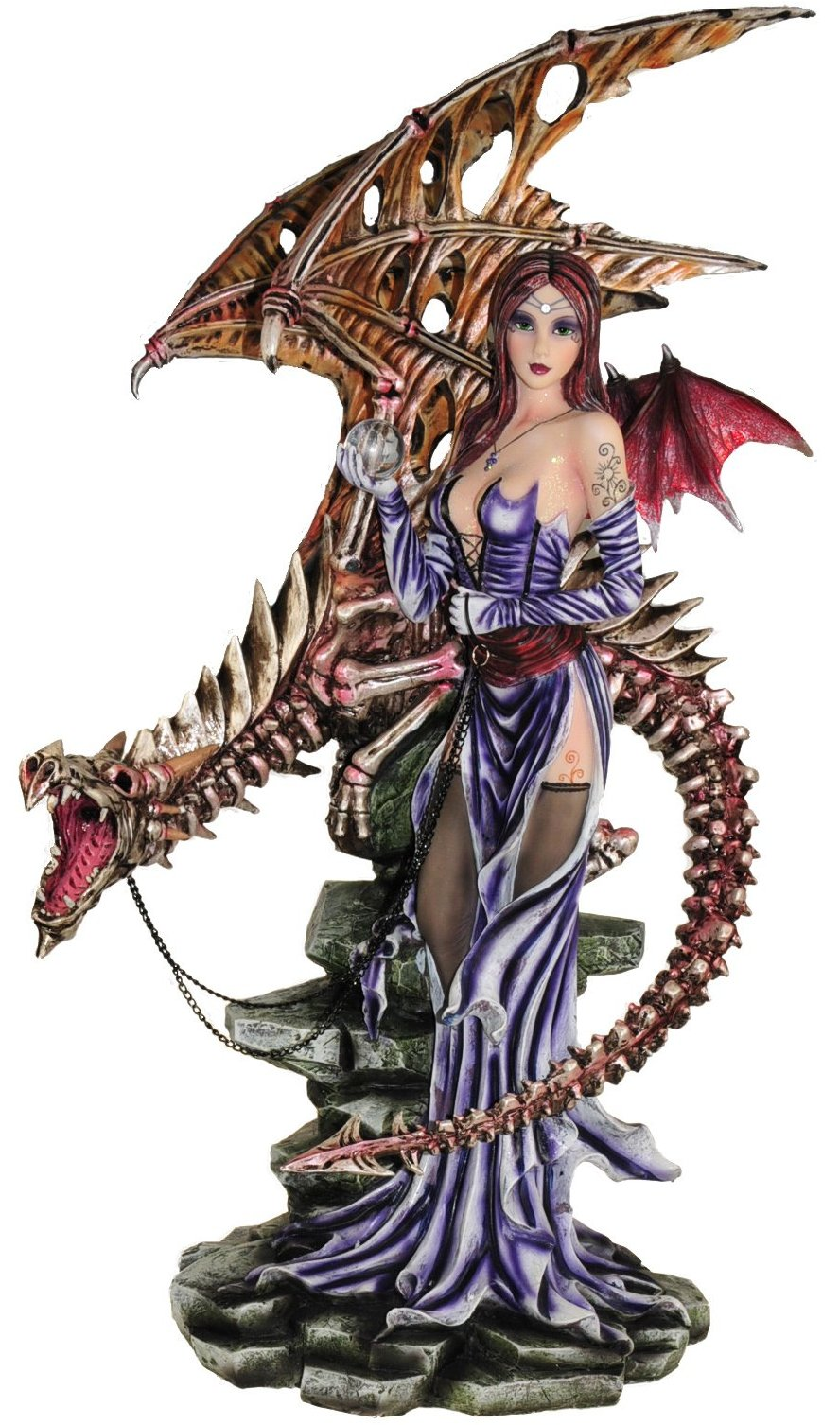 Styx Goddess & Bone Dragon -- DragonSpace