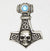 Thor's Hammer Skull Necklace