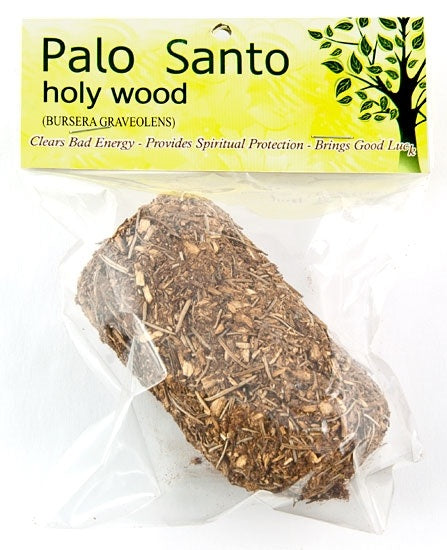 Palo Santo Log with Myrrh & Eucalyptus