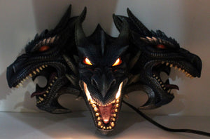 Triple Dragon Lamp