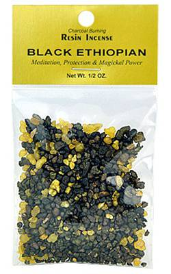 Black Ethiopian Resin -- DragonSpace