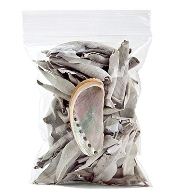 White Sage & Abalone Kit