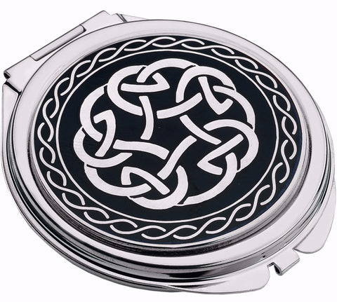 Celtic Knot Compact Mirror
