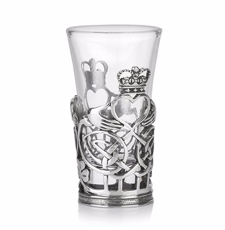 Claddagh Celtic Shot Glass -- DragonSpace