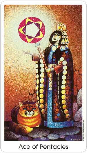 Tarot of the Cat People -- DragonSpace