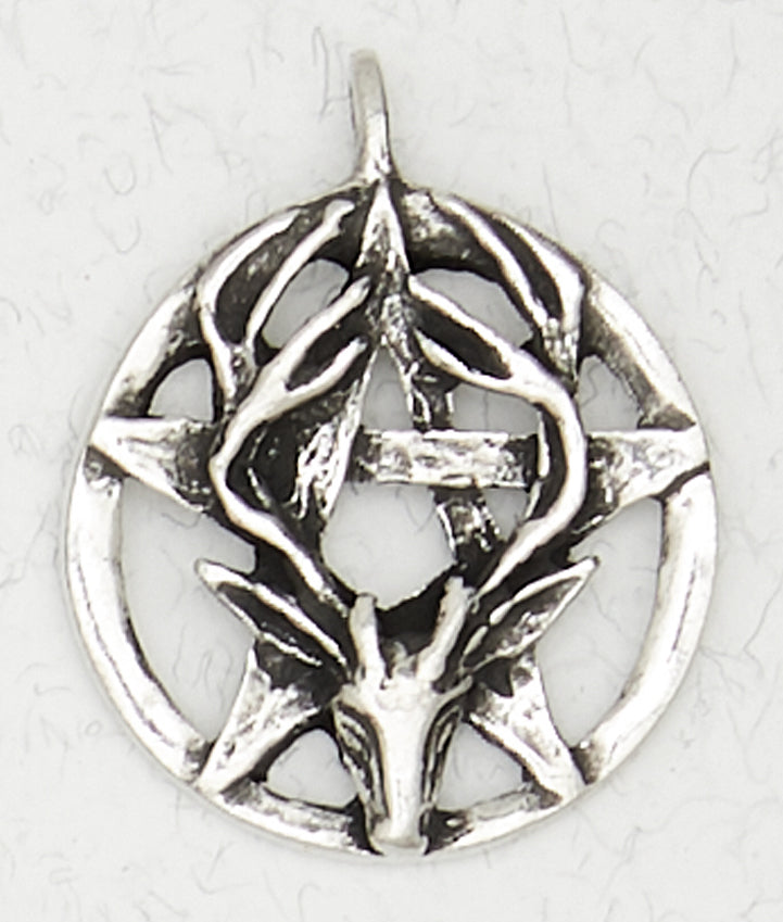 Wiccan Stag Necklace