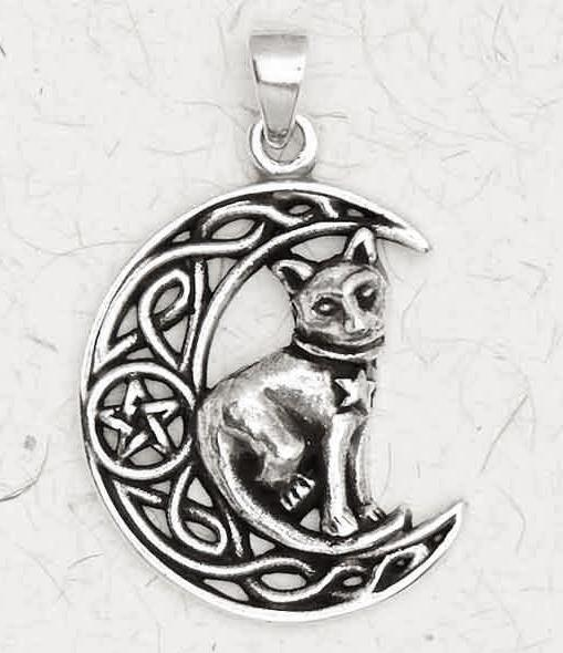 Pentacle of the Cat Necklace