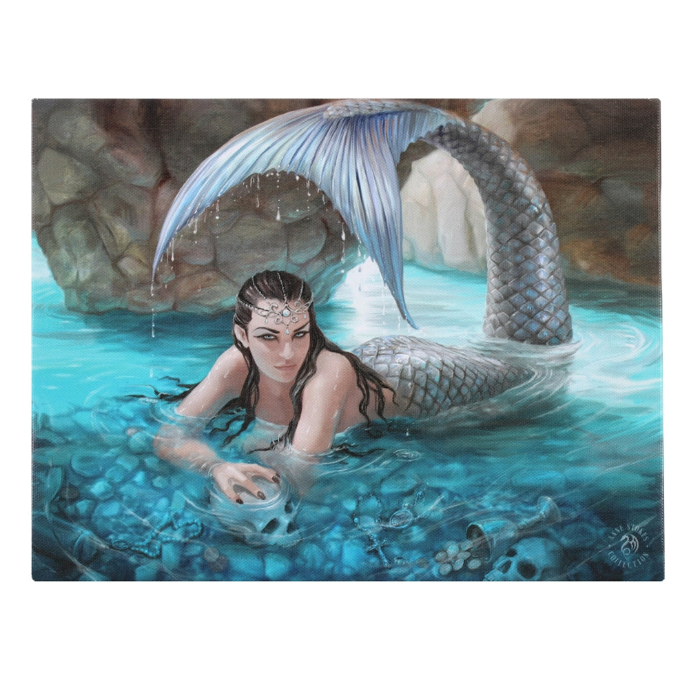 Hidden Depths Mermaid Canvas Print