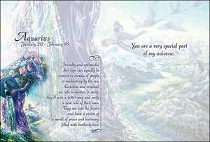 Aquarius Card -- DragonSpace