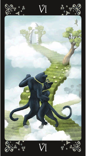 Black Cats Tarot -- DragonSpace