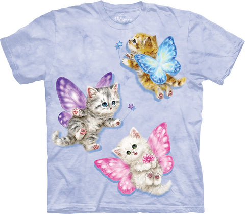 Butterfly Fairy Kittens T-Shirt